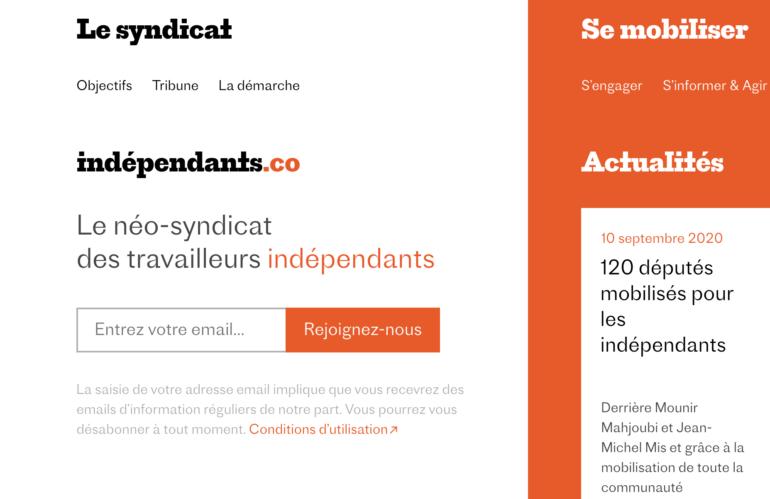 Syndicat pour freelances : « Indépendants mais pas seuls ».